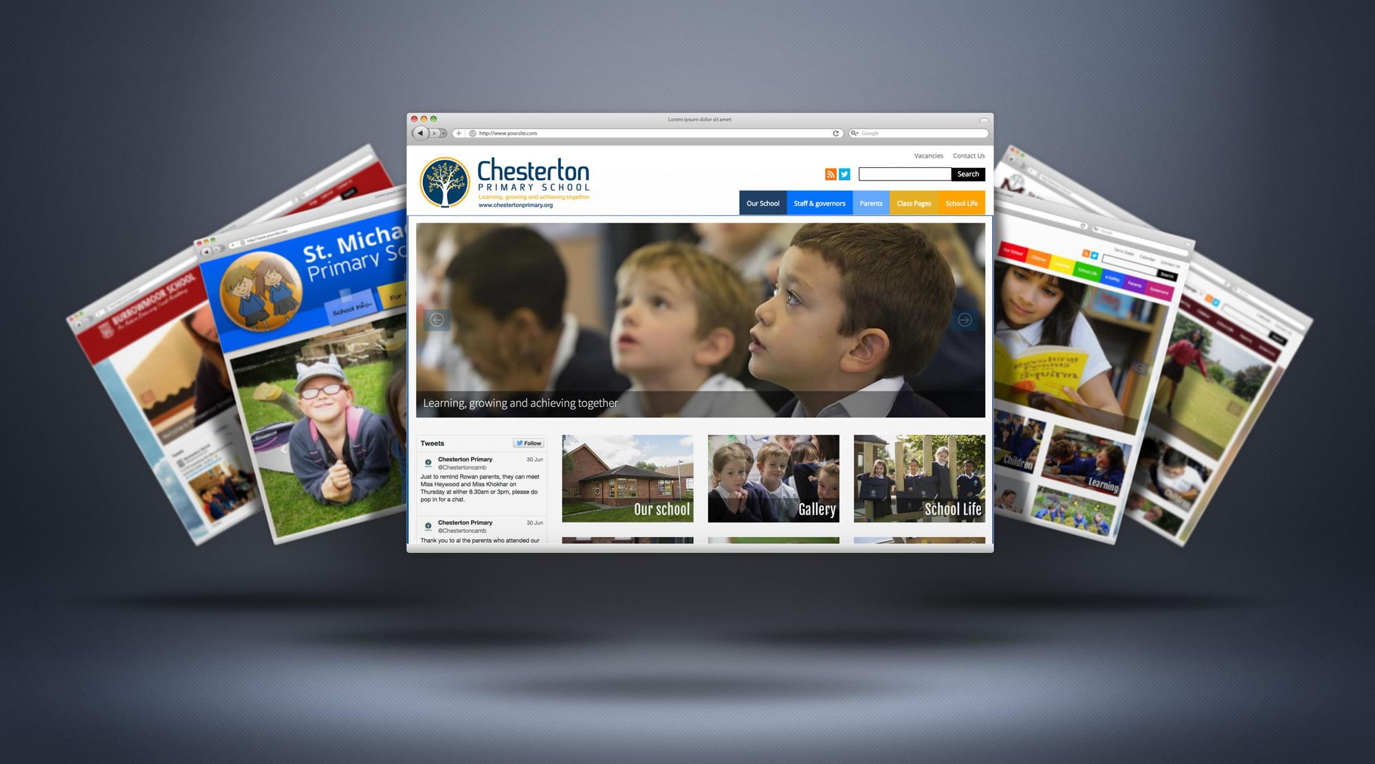 primary-school-website-design