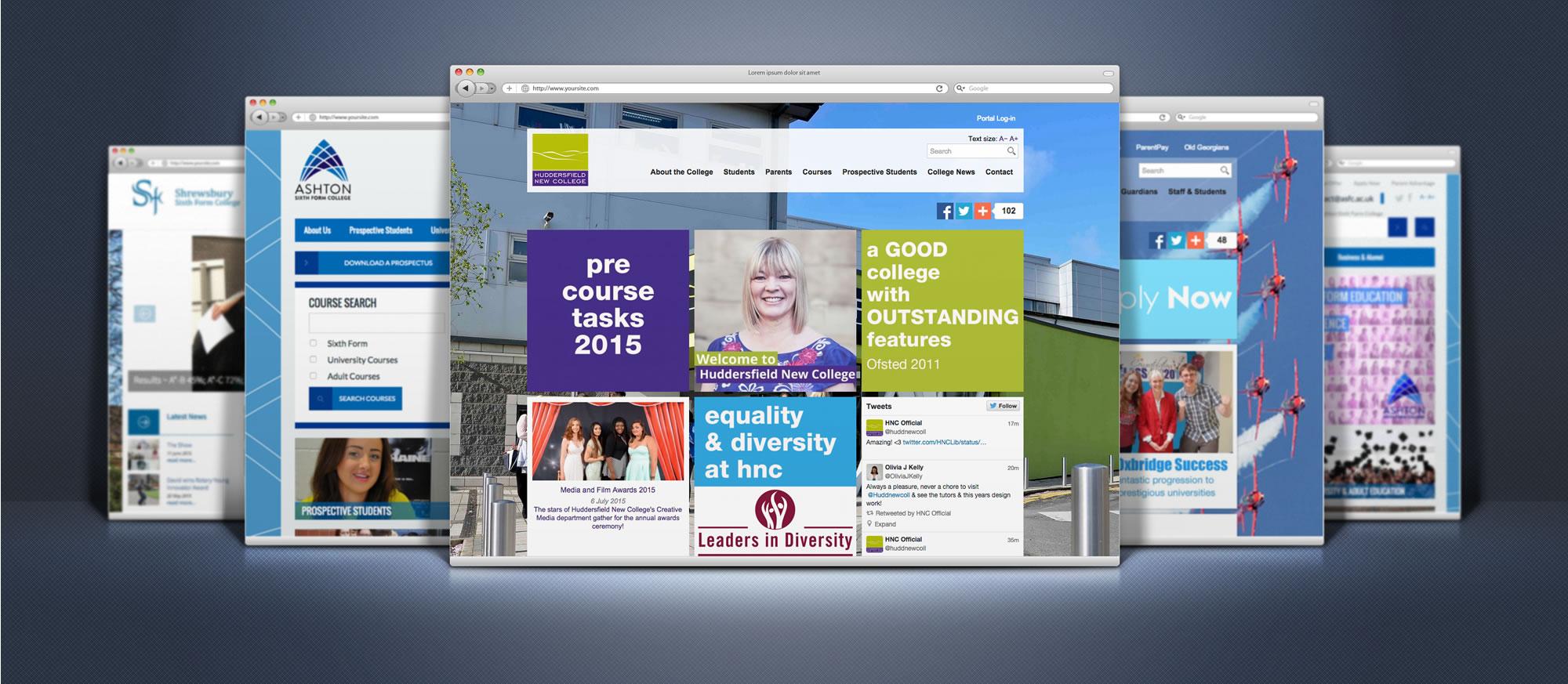sixth-form-website-design-banner