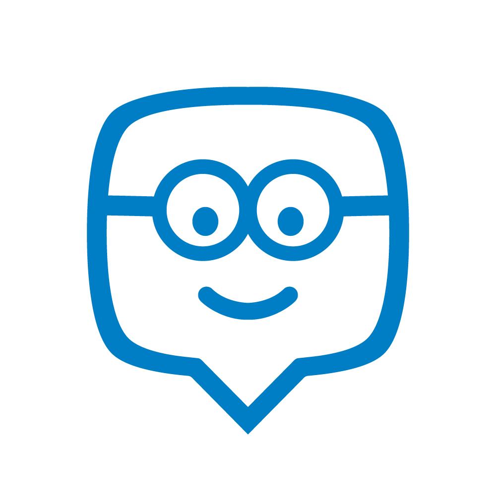 Edmodo blue logo