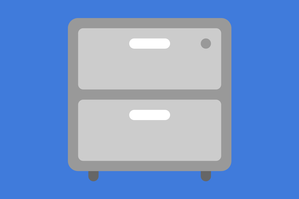 Document Groups Filing Cabinet