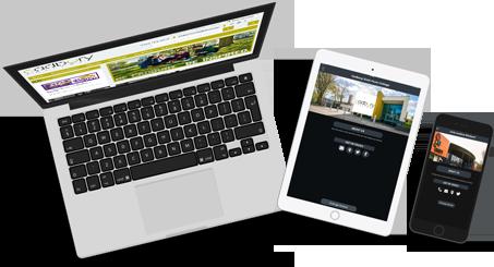 Desktop vs Responsive School Website vs School App