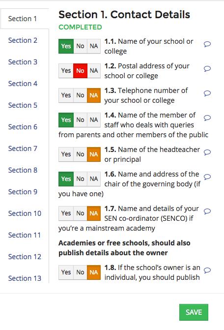 School Website Audit - The Checker
