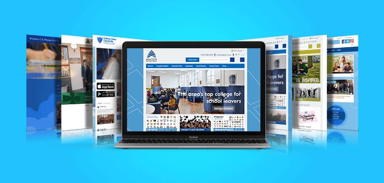 School Website Template Banner