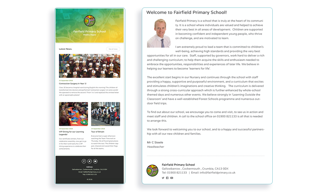 Email Newsletters & Parental Engagement