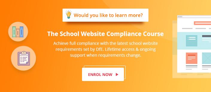 The School Website Compliance Course