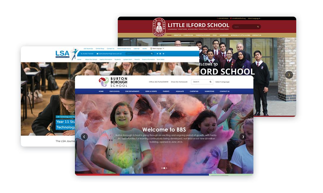 Secondary School Website Design